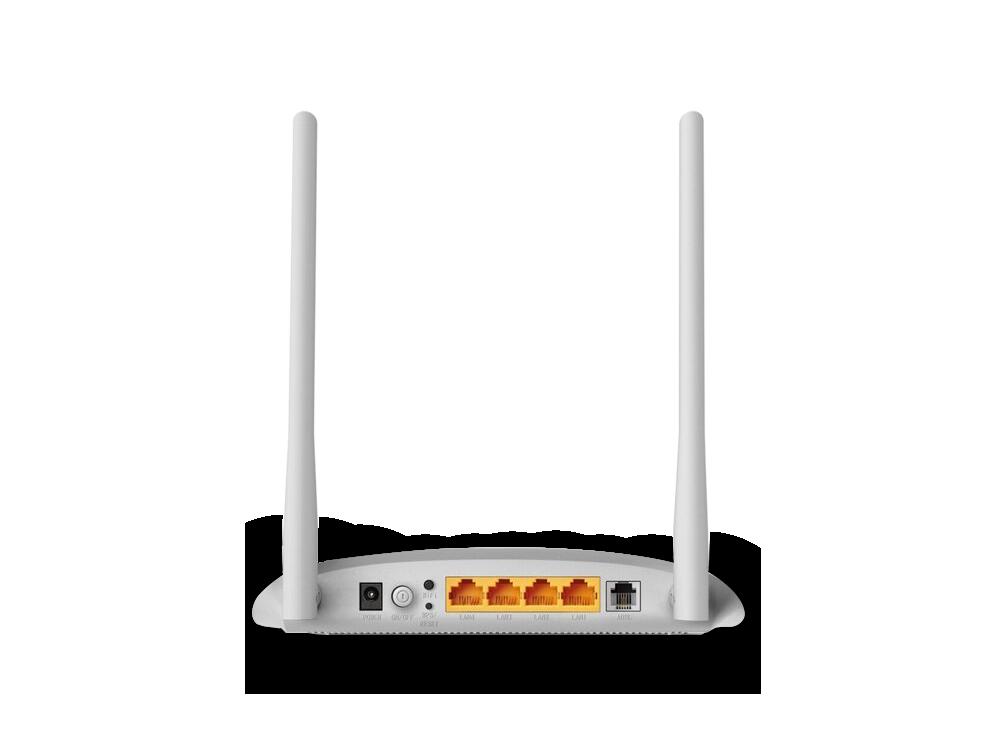 TP-Link TD-W8961N 300Mbps 2x5DBi Anten WPS ADSL2 + Modem/Router