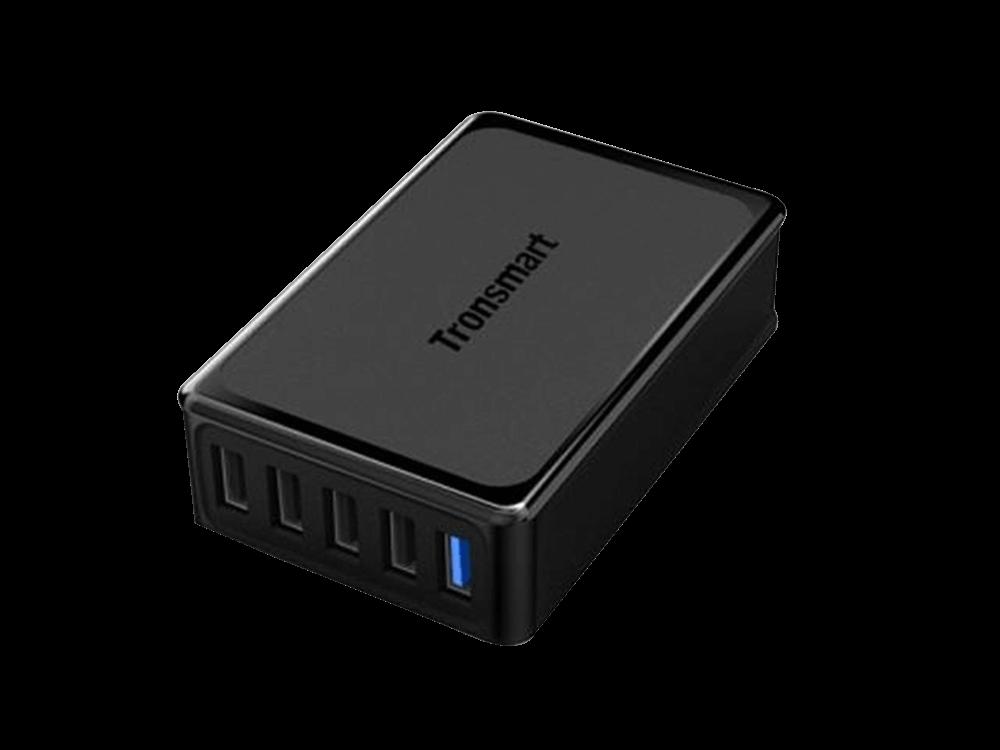 Tronsmart Qualcomm 3.0 5 Portlu VoltiQ Hızlı Şarj İstasyonu