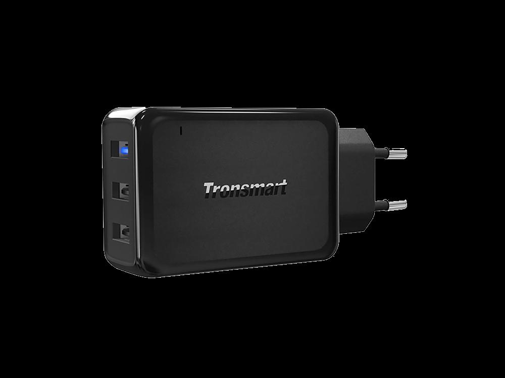 Tronsmart W3PTA 3 Portlu Qualcomm 3.0 VoltiQ Hızlı Şarj Cihazı