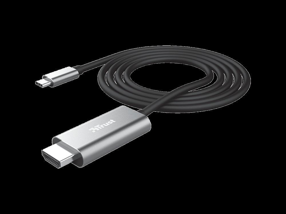 Trust 23332 Calyx USB-C to HDMI 4K Multimedya Kablo 1,8 m