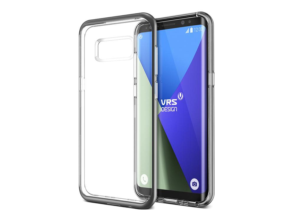 Verus Galaxy S8 Plus Kristal Bumper Koruyucu Kılıf