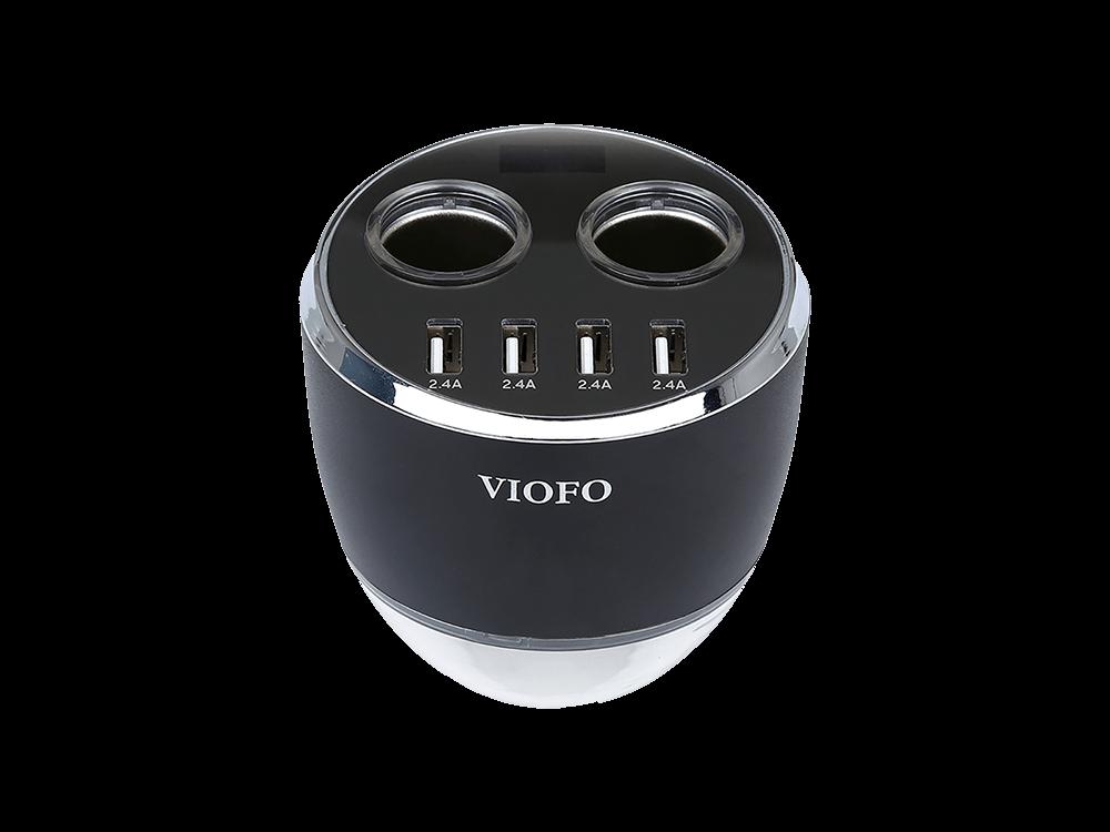 Viofo 4 USB Portlu Araç Şarjı Çakmaklık Çoklayıcı