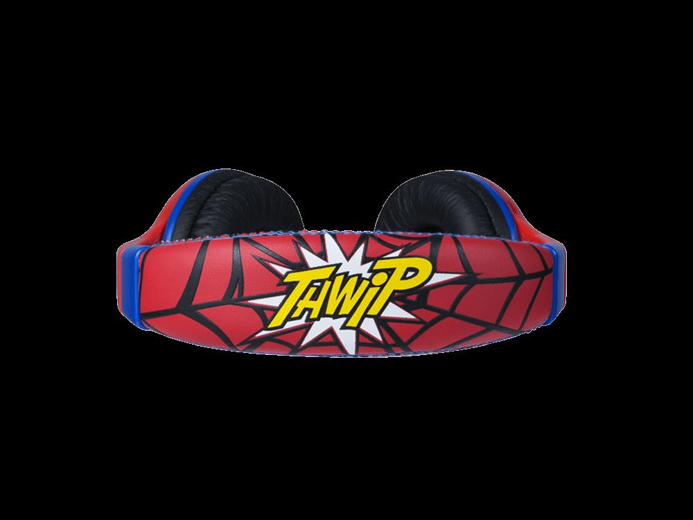 Volkano Marvel Lisanslı Spiderman Kulak Üstü Çocuk Kulaklığı