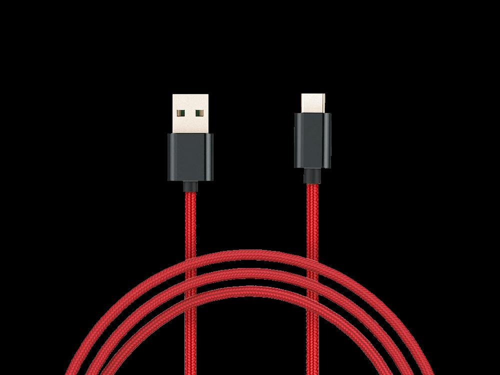 Xiaomi Mi Braided USB / Type-C Şarj ve Data Kablosu 100 cm