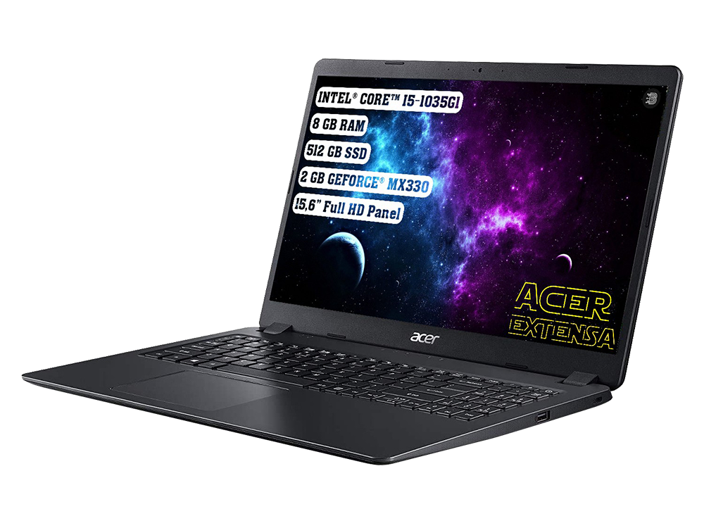 Acer Extensa 15 NX.EGCEY.002 Intel Core i5 1035G1 8GB 512GB SSD MX330 FreeDOS 15.6 FHD