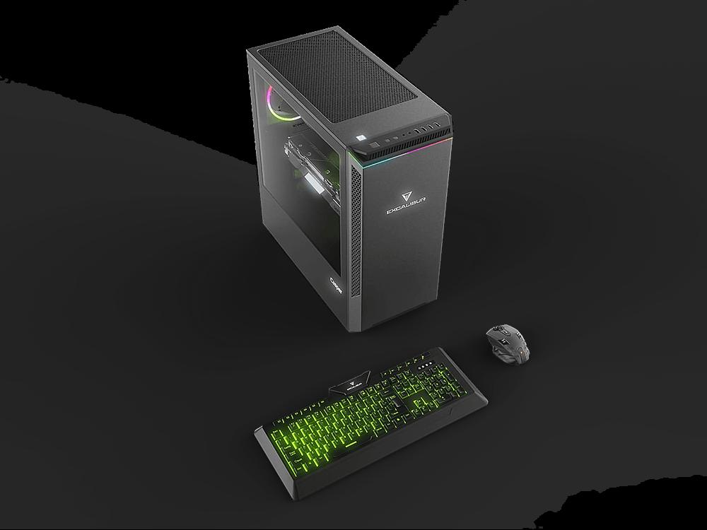 Casper Excalibur E60L.1010-8E50T-V-F / Intel Core i3-10100 / 8 GB Ram / 480 GB SSD / W10
