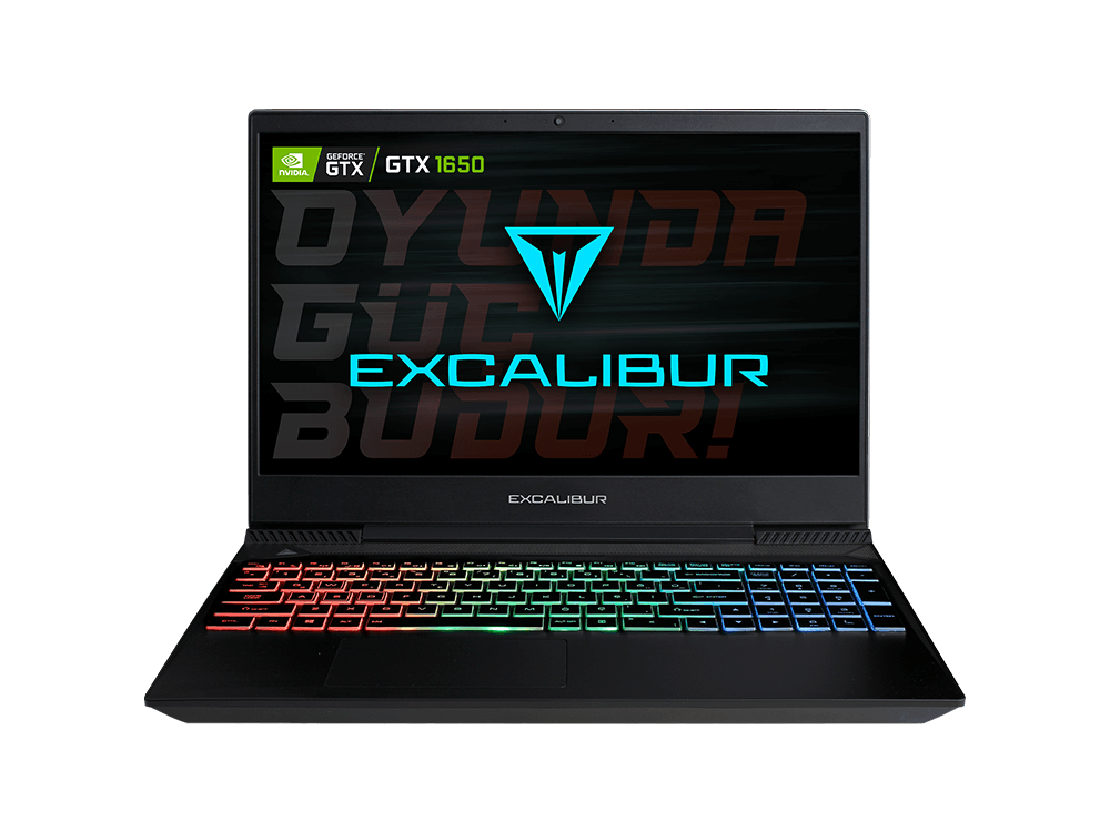 Casper Excalibur G770.1030-8EH0F / Intel Core i5-10300H / 8 GB Ram / 480 GB SSD / Windows 10 Home / 15.6 inç / Nvidia GeForce GTX 1650