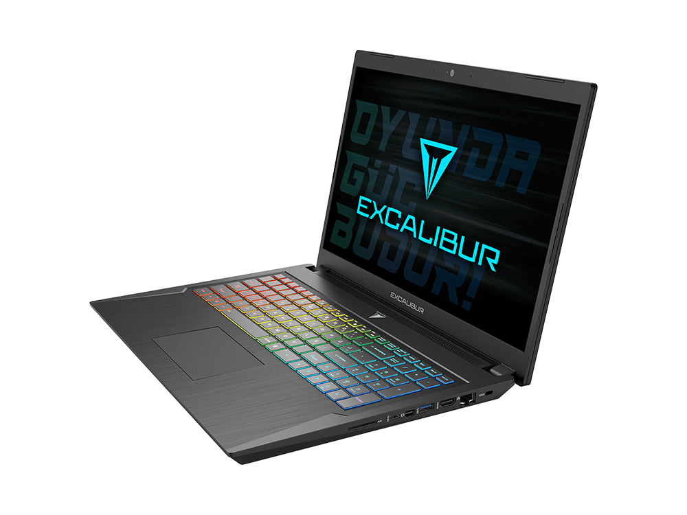 Casper Excalibur G780.1075-8EL0A / Intel Core i7-10750H / 8 GB Ram / 480 GB SSD / W10 / 16.6 inç FHD / Nvidia GeForce GTX 1660Ti