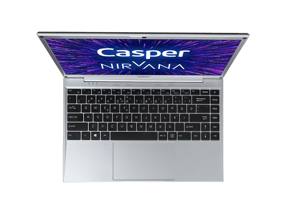 Casper Nirvana C350.5000-4C00E / Intel Pentium N5000/ 4 GB Ram / 120 GB SSD / W10 / 14 inç