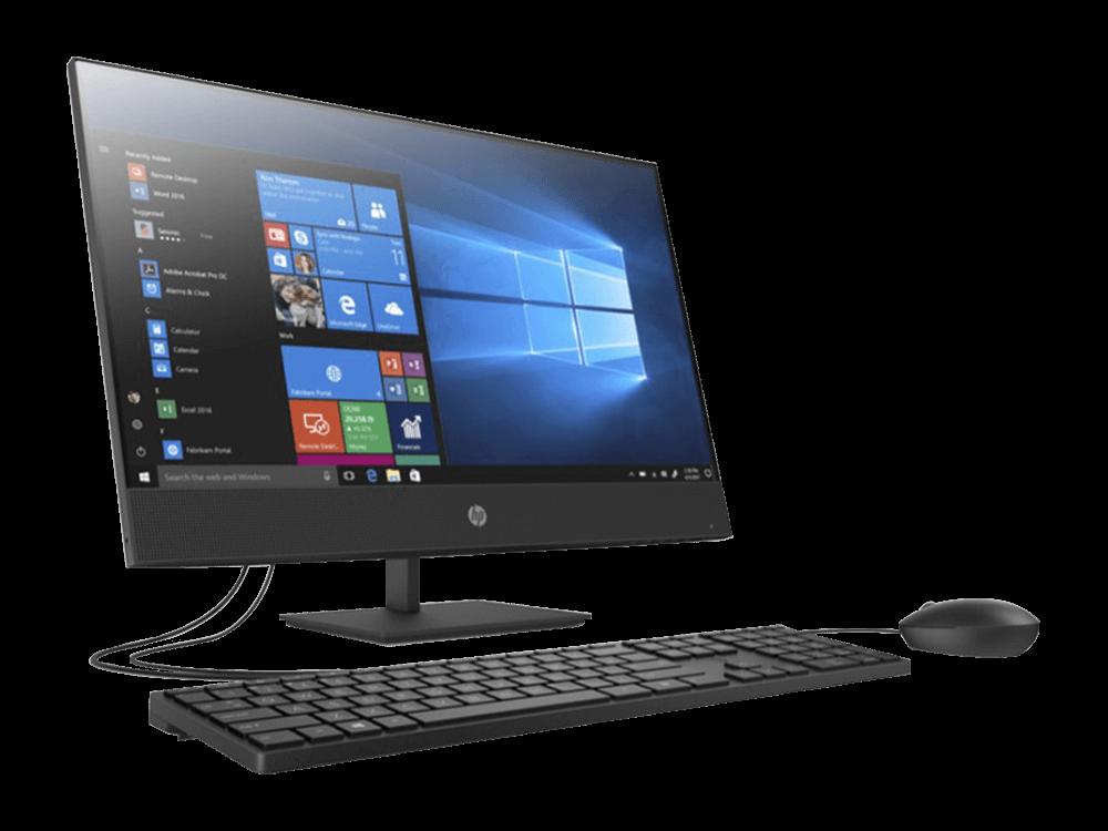 HP ProOne 440 G6 2T7Z1ES i3-10100T 4GB 256GB SSD 23.8 inç FHD W10
