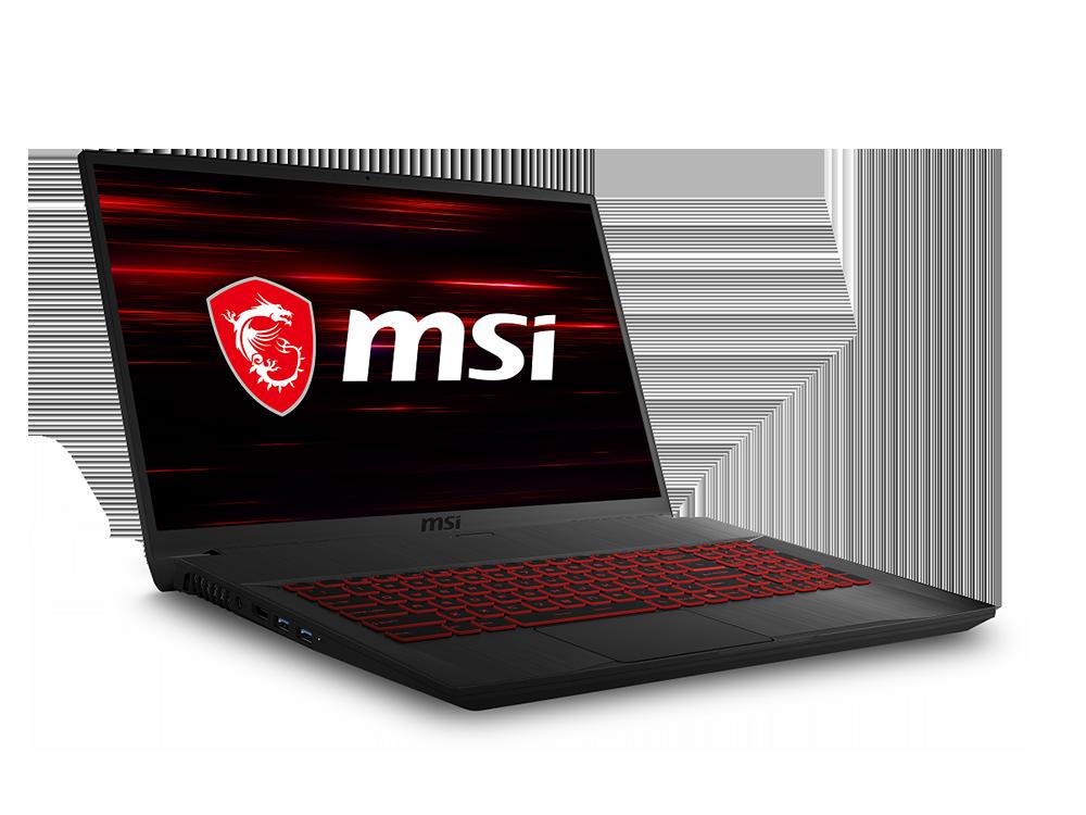 MSI GF75 Thin 10SC-003XTR Intel Core i7 10750H 8GB 256GB SSD GTX 1650 Freedos 17.3
