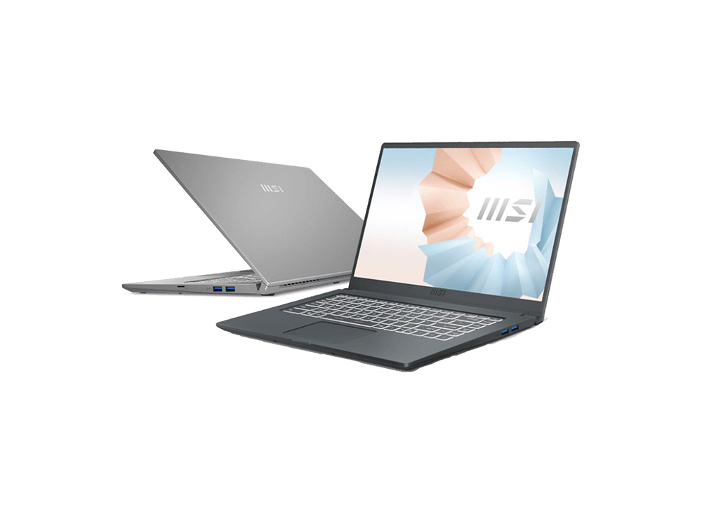 MSI Modern 15 Notebook A11ML-446XTR I5-1135G7 8GB RAM 512GB SSD UMA 15.6 inç FHD DOS
