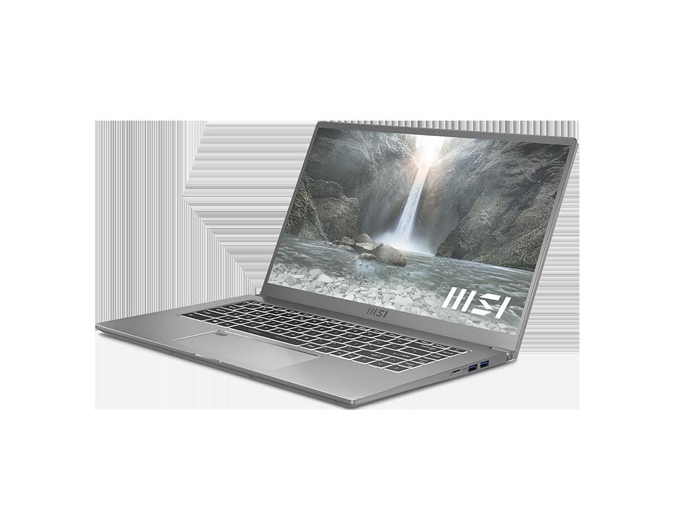 MSI Prestige 15 Notebook A11SCX-418TR I7-1185G7 16GB RAM 512GB SSD GTX1650 15.6 inç FHD W10