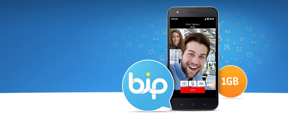 BiP İndirene 1GB İnternet - Hemen BiP indirin 30 gün geçerli 1GB internet kazanın!