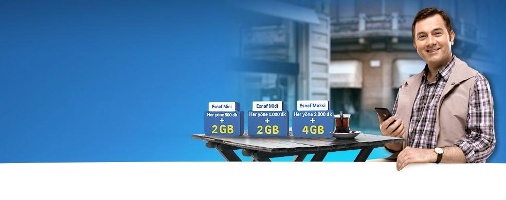 Esnaf Paketleri Kampanyası Esnaf Paketleri Kampanyası Yeni esnaf paketleri interneti ve bereketiyle geldi!