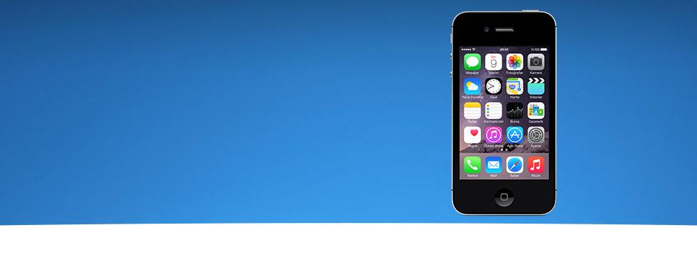 iPhone 4s 8GB Sadece 799 TL Üstelik 3 ay boyunca sınırsız 1GB internet paketi ile birlikte!