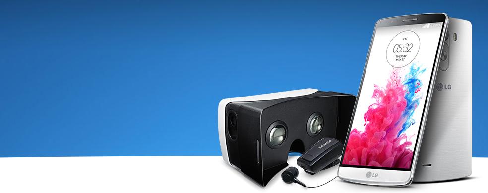 Şimdi Taksitli LG G3 Almak Çok Avantajlı - Taksitli LG G3 alanlara VR gözlük ve bluetooth kulaklık hediye!