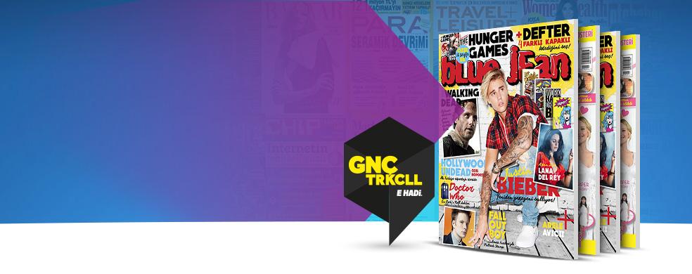 Tek dergi fiyatına yüzlerce dergi - Son sayıları otomatik olarak cihazınıza indirebilir ve indirdiğiniz dergileri dilediğinizyerde okumanın keyfini çıkarabilirsiniz. Turkcell kullanıcıları > 9.9 TL/AY