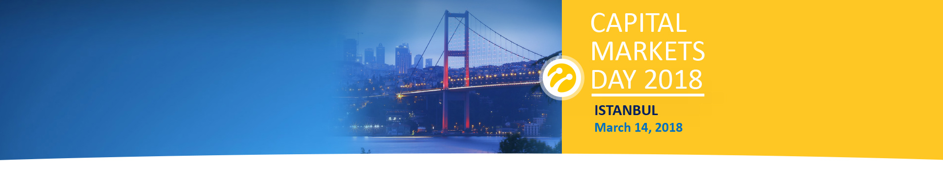 Save the Date Turkcell Capital Markets Day 2018