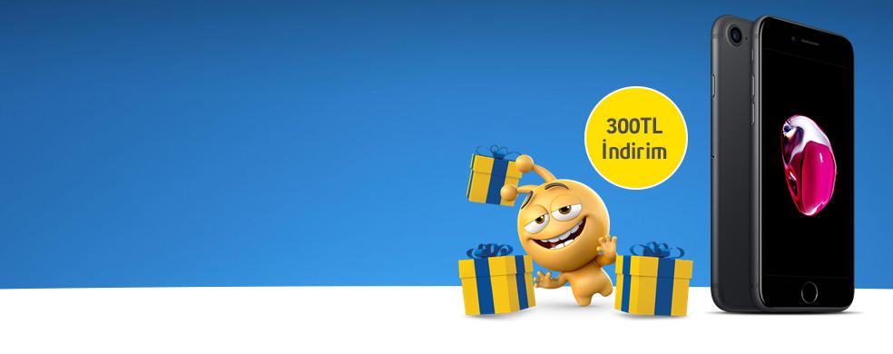 iPhone'larda 300 TL İndirim! - Kısa süreli bu sarı kutu fırsatını kaçırmayın!
