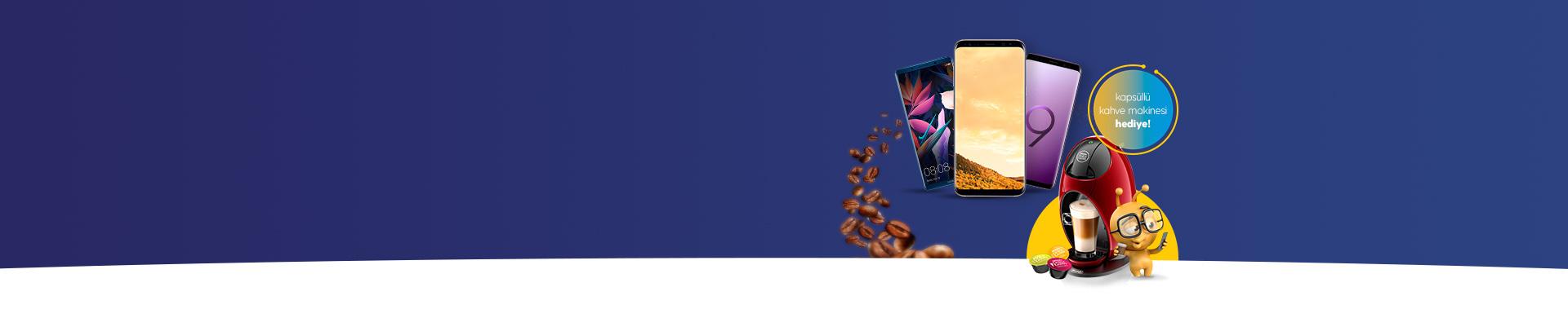Kontratlı Cihaz Almanın Tam Zamanı turkcell.com.tr'den kontratlı cihaz alanlara, NESCAFÉ Dolce Gusto Jovia Kahve Makinesi + 3 kutu kapsül hediye!