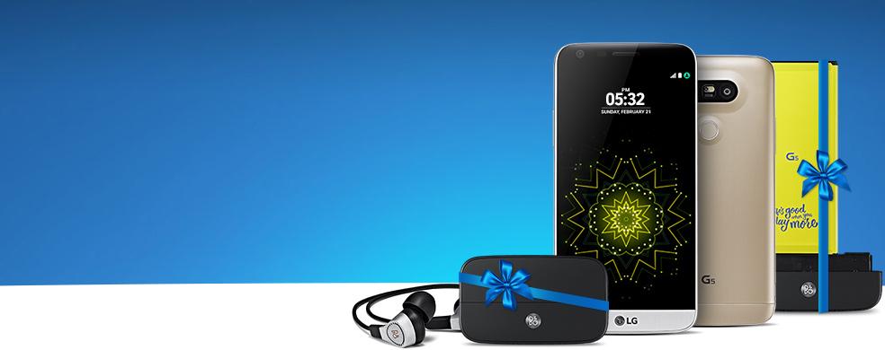 LG G5 ile Müzik Her Yerde - LG G5'i kontratlı alan herkese Kulaklık ve Müzik Modülü Hediye!