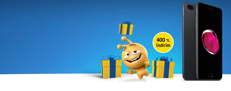 iPhone'larda 400 TL İndirim - Kısa süreli bu sarı kutu fırsatını kaçırmayın!