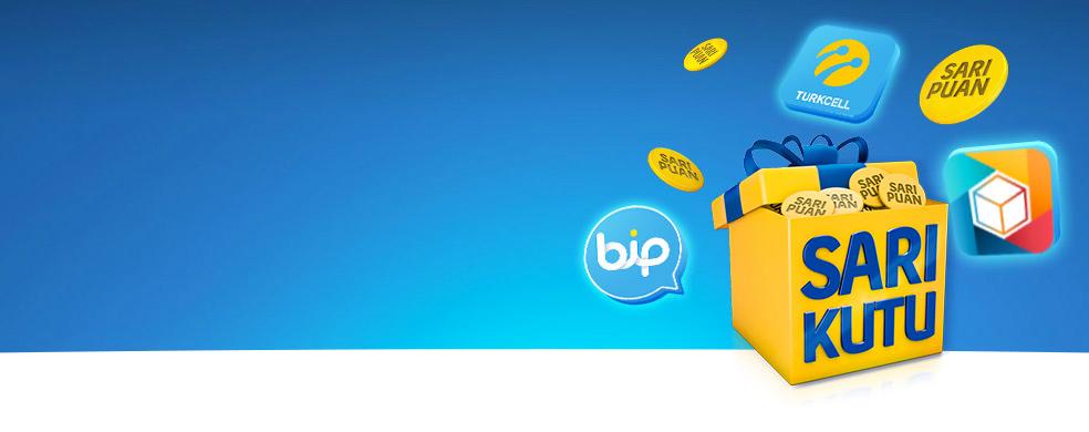 Sarı Kutulular Artık Daha Çok Kazanıyor! - Artık Turkcell ürün ve servislerini kullanarak da puan kazanabileceğinizi biliyor musunuz?