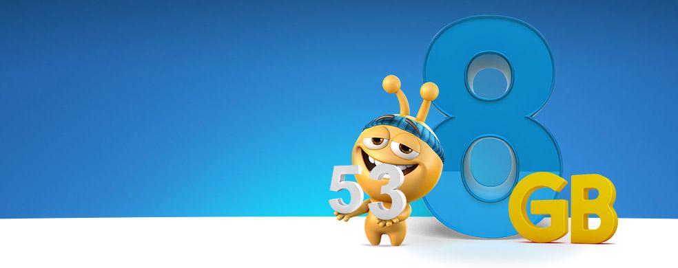 Tek Tıkla Turkcell - turkcell.com.tr'den numarasını taşıyanlar  veya yeni hat alanlara 8GB Hediye!