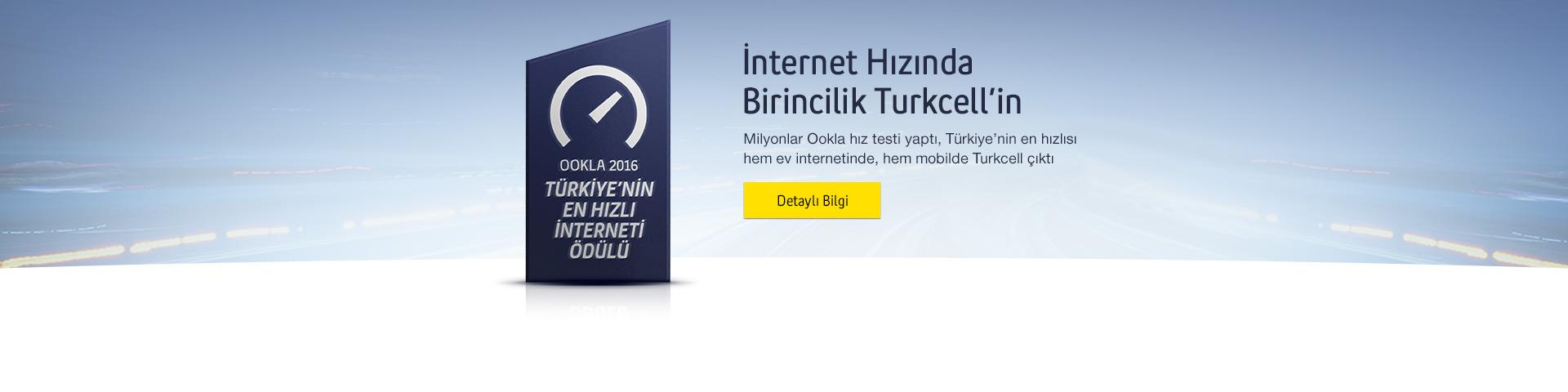 İnternet hızında birincilik Turkcell'in - Milyonlar ookla hız testi yaptı, Türkiye'nin en hızlısı hem ev internetinde hem mobilde Turkcell çıktı