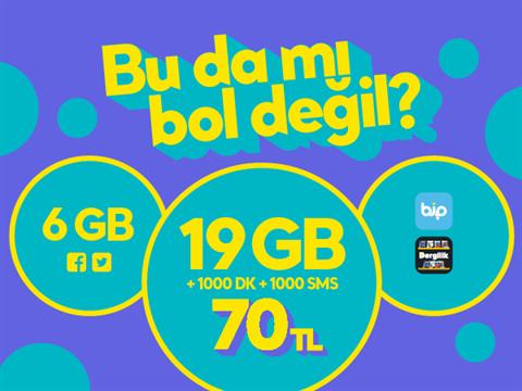 GNÇ Üçlü 25GB