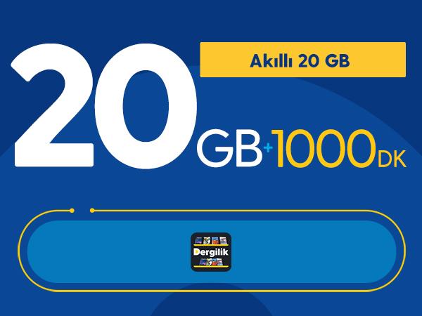 Akıllı 20GB Paketi