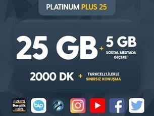 Satın Al Platinum Plus 25 Kampanyası