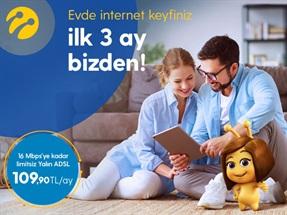 3 Ay Ücretsiz Limitsiz Yalın ADSL Kampanyası