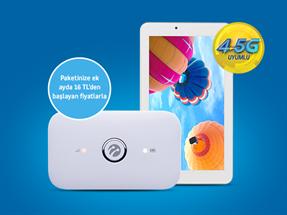 4.5G VINN WiFi ile Tablet Fırsatı