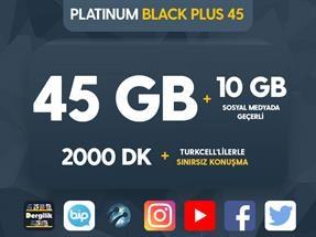 Platinum Black Plus 45 Kampanyası
