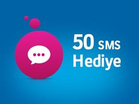 50 SMS Hediye Kampanyası