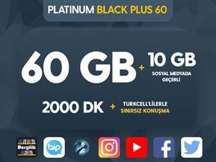 Satın Al Platinum Black Plus 60 Kampanyası