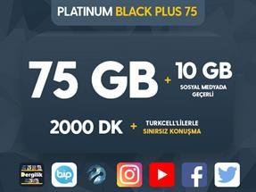 Platinum Black Plus 75 Kampanyası