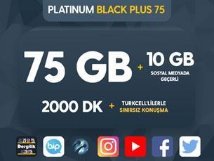 Satın Al Platinum Black Plus 75 Kampanyası