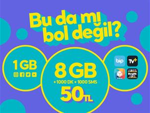 GNÇ Star 8GB
