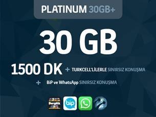 Satın Al Platinum 30GB+