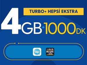 Turbo+ Hepsi Ekstra Kampanyası