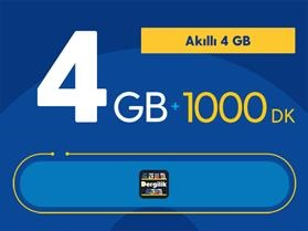 Akıllı 4GB Paketi