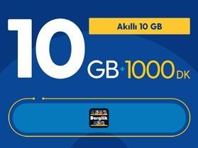 Akıllı 10GB Paketi