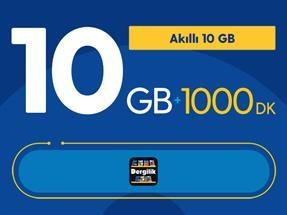 Akıllı 10GB Yıllık Abonelik Kampanyası