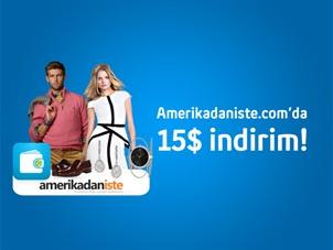Amerikadaniste.com gönderilerinizde Turkcell Cüzdan ile $15 indirim!