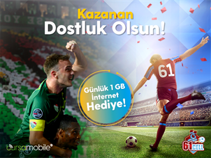 Anadolu Şampiyonları 1 GB Kampanyası