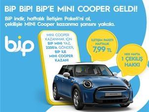 BİP Mini Cooper Çekiliş Kampanyası