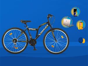 Seçili Ürünlerde Bisiklet Hediye